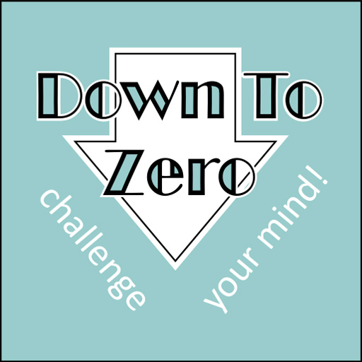 Down to zero. Free puzzle games by wilbeep.