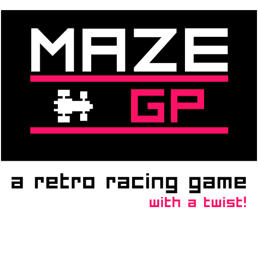 ZX maze GP. Free 8 bit games by wildbeep