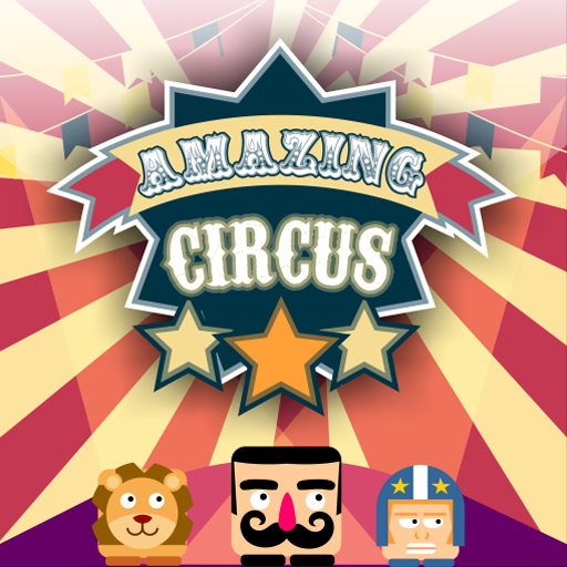 The amazing circus. Free games by wildbeep.