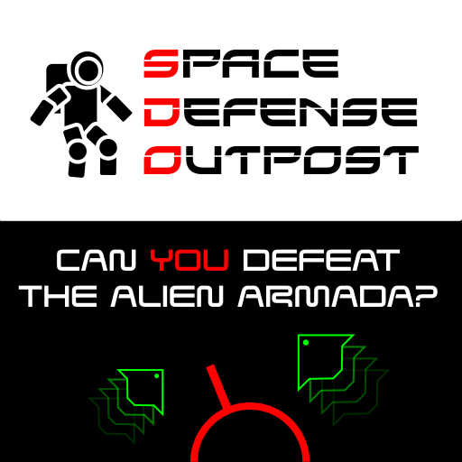 Space defense outpost. A free arcade style game by wildbeep