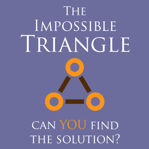 the impossible triangle. Free puzzle games by wildbeep