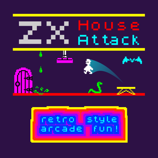 zx house attack. Free games by wildbeep. 48K style